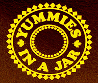 Yummies in a Jar logo