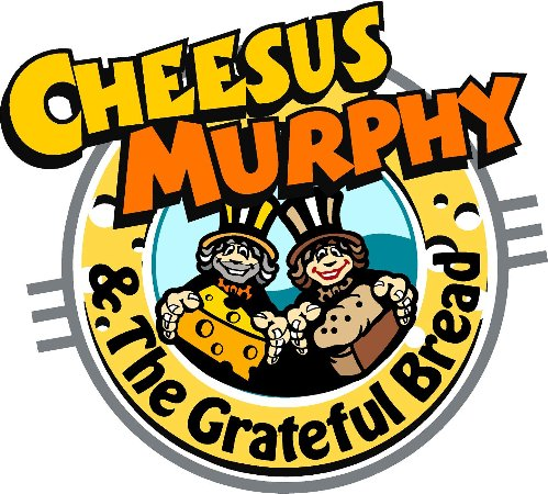 Cheesus Murphy and the Grateful Bread logo