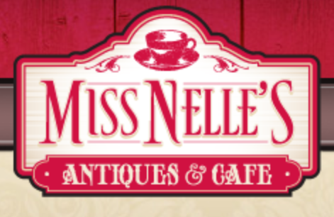 Miss Nelle's Cafe and Antiques logo
